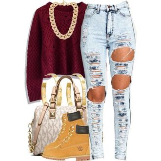 sweater urban outfitters jeans shoes