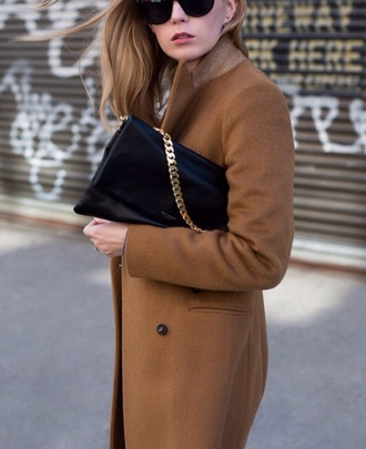 fashion trendy prada style coat givenchy casual fall outfits fall fashion beauty love brown inlovewithfashion