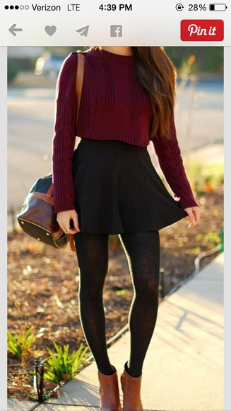 cropped cropped sweater