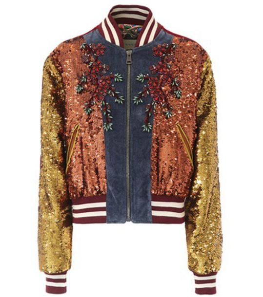 gucci jacket varsity jacket varsity cotton