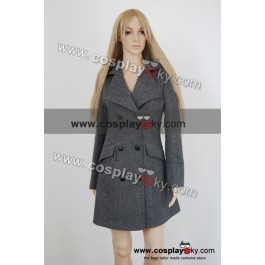 Harry poter hermione granger gray coat costume