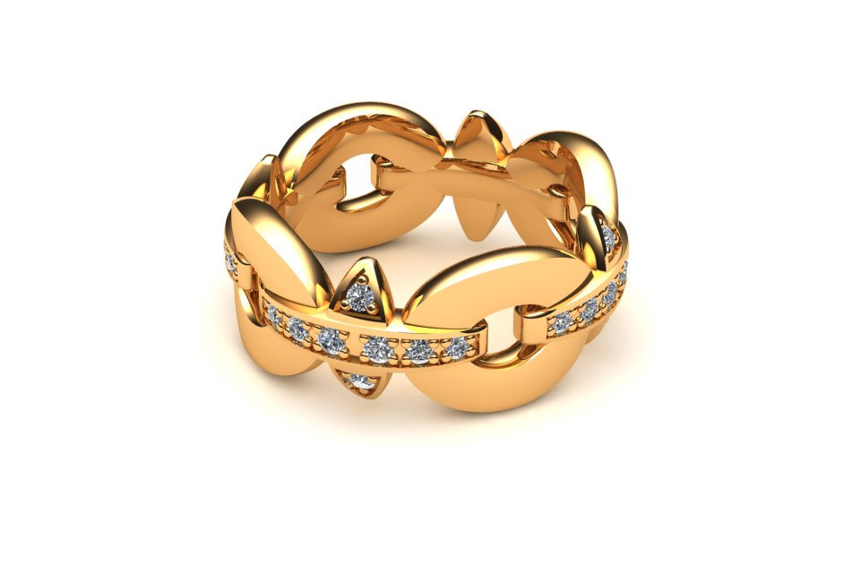 Kepper Ring 18ct Yellow Gold