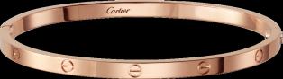 LOVE bracelet, SM: LOVE bracelet, small model, 18K pink gold. Sold with a screwdriver.
