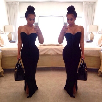black maxi dress dress prom dress prom gown long prom dress