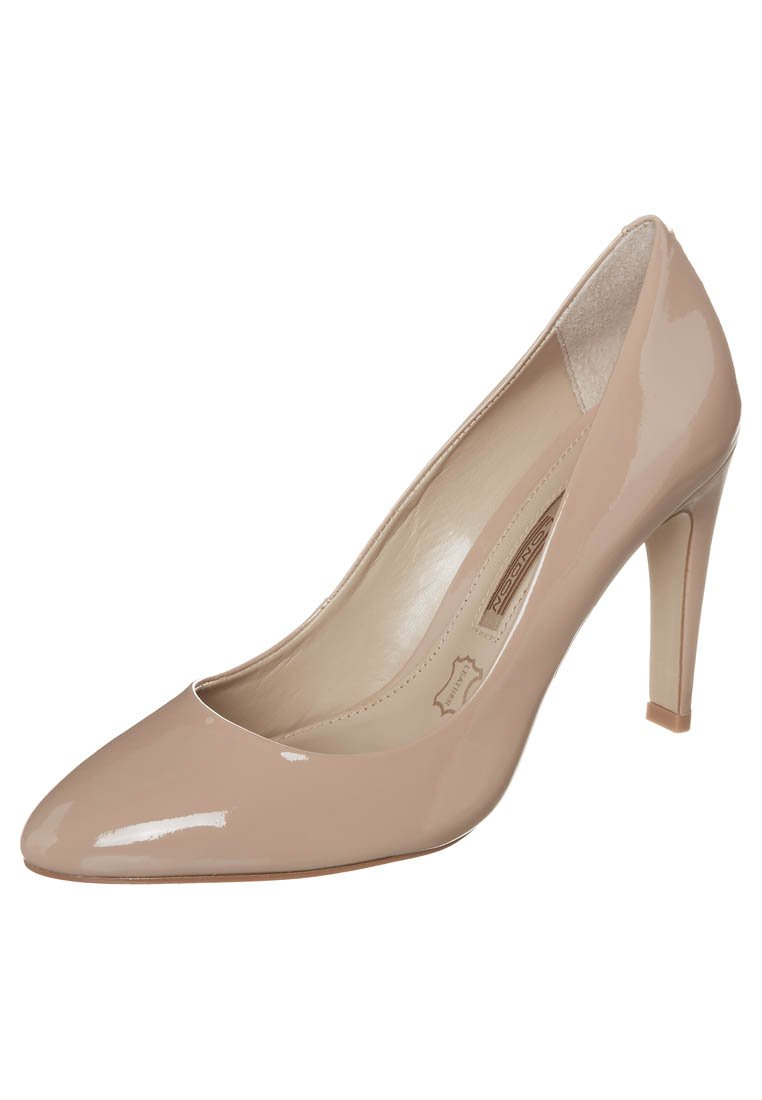 Buffalo High Heel Pumps - patent nude 27 low camel - Zalando.de