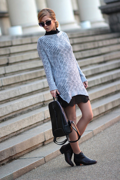 sirma markova sweater skirt blouse shoes jewels sunglasses