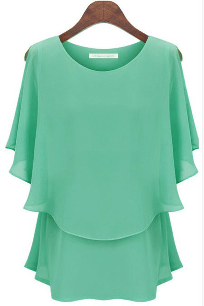 blouse chiffon blouse