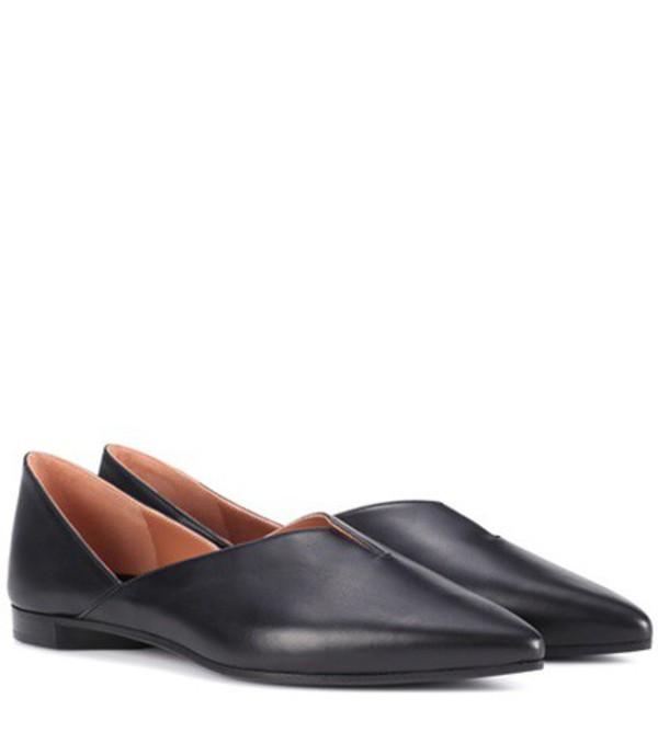 Pierre Hardy Secret Mule leather loafers in black
