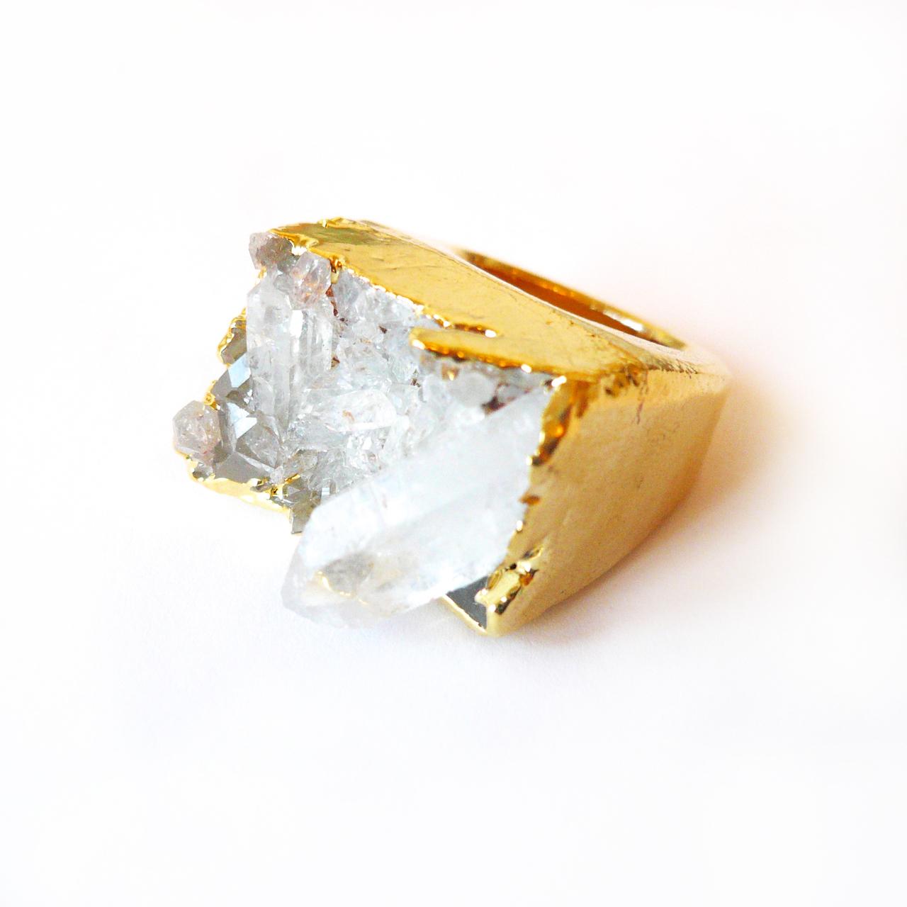 Golden Goddess Ring