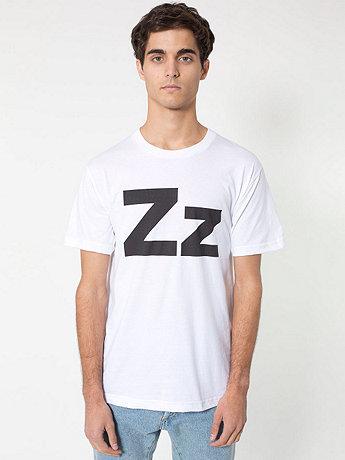 Helvetica Alphabet T-Shirt | American Apparel