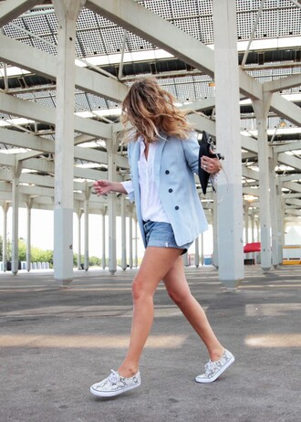 my daily style shoes bag shorts jacket