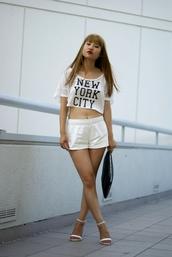 la vagabond dame,t-shirt,bag,shorts,jewels,shoes