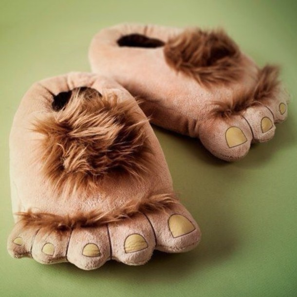 shoes slippers stuffed animal