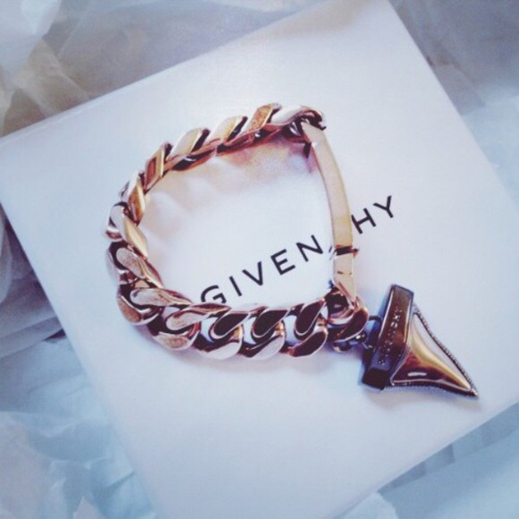 givenchy jewels bracelets sharktooth
