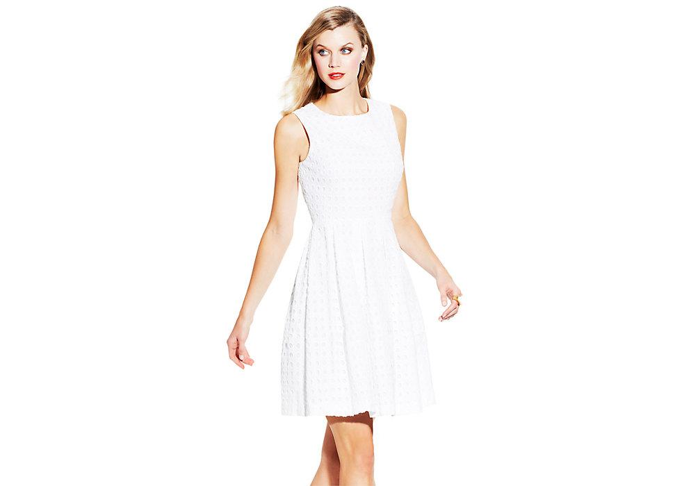 Circle Eyelet Dress - Vince Camuto