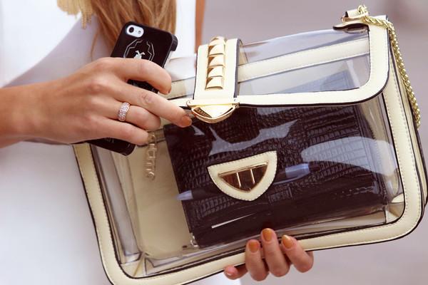 bag See through bag elegant bag streetstyle stylemoi