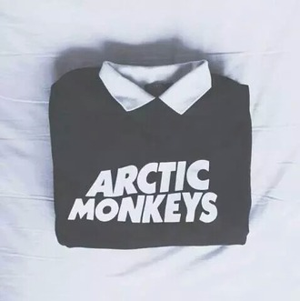 sweater arctic monkeys rock grunge women pull