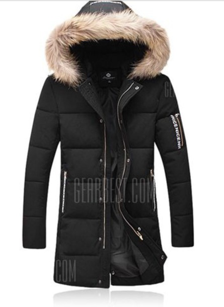 jacket faux fur black parka white fur winter jacket down jacket black jacket