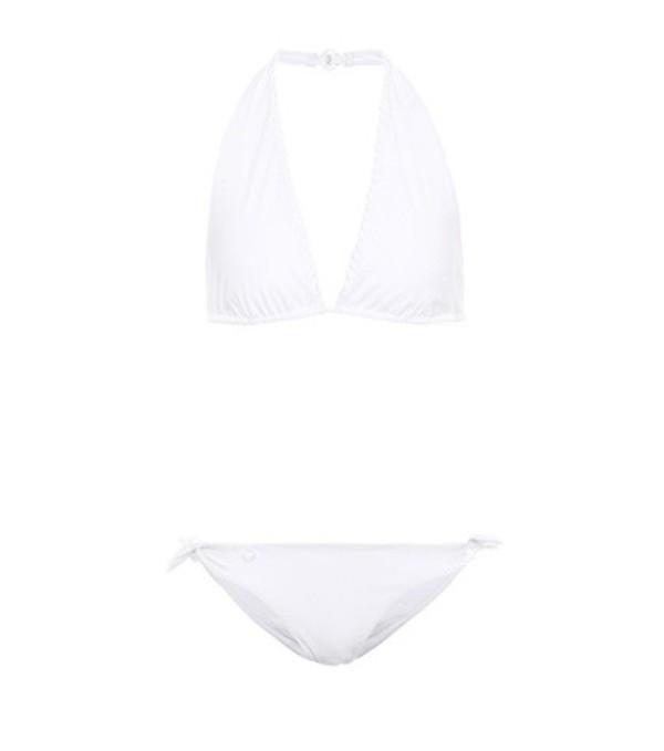 Fendi Halter bikini in white
