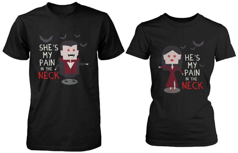 Amazon Com Halloween Matching Couple Shirts Knotts