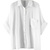ROMWE | ROMWE Asymmetric Pocketed Batwing Rolled White Shirt, The Latest Street Fashion