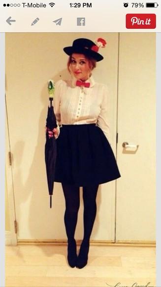 blouse lauren conrad umbrella bow tie