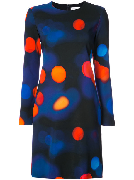 Victoria Victoria Beckham dress women spandex blue silk