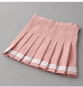 skirt,girly,pink,pleated,pleated skirt,tennis skirt