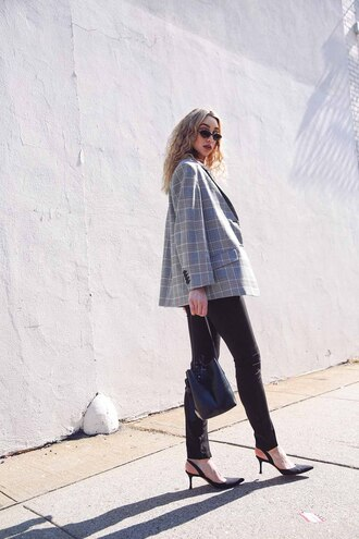 ana prodanovich blogger jacket underwear pants shoes