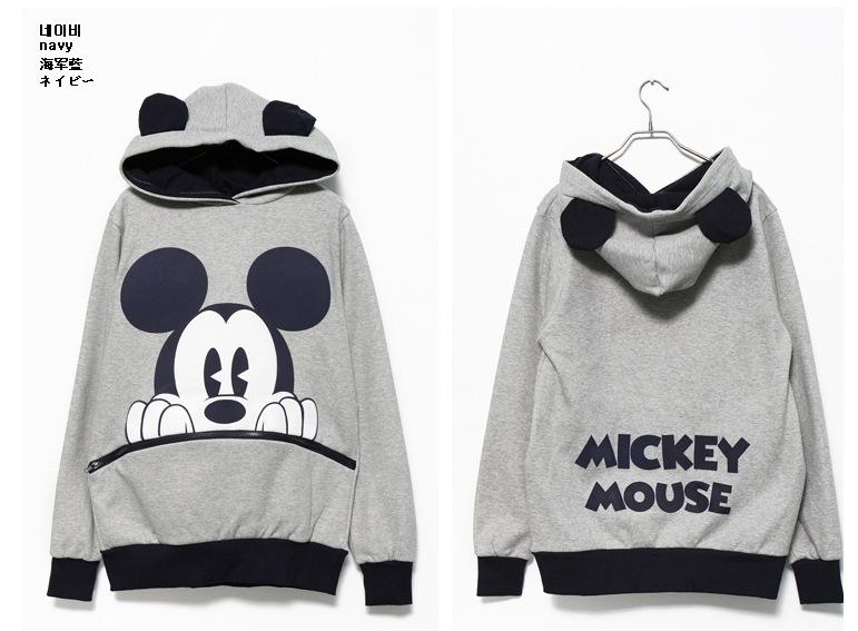 las ventas caliente nueva 2014 de primavera y otoño de mickey mouse impresión de deporte mujer traje de en de en Aliexpress.com