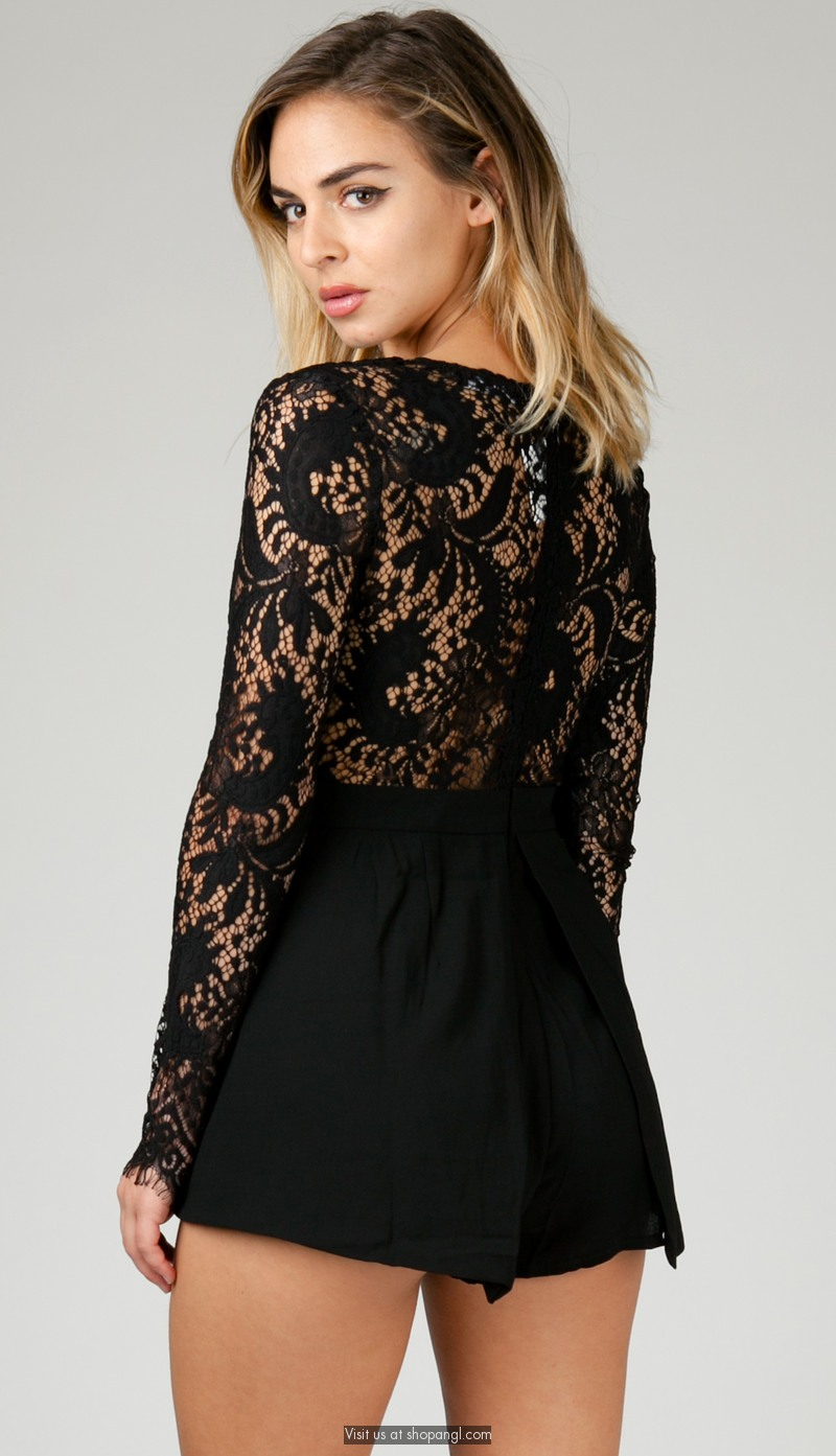 Cute rompers and formal jumpsuits for women, girls, and juniors in long and short styles that are perfect for evening events, prom, or homecoming.