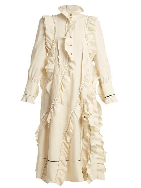 Sonia Rykiel dress high ruffle