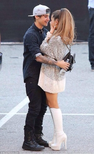 dress cute dress ariana grande sweater