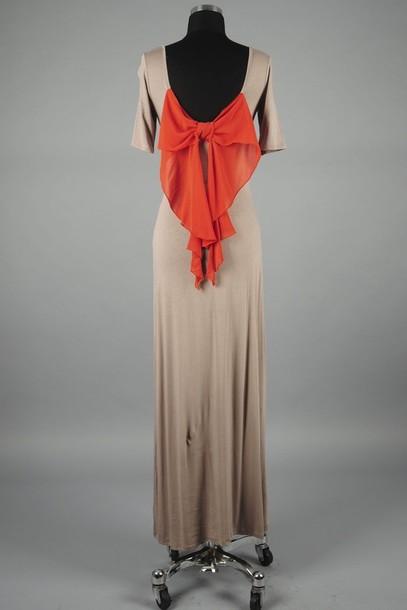 dress bow Bow Back Dress bow dress