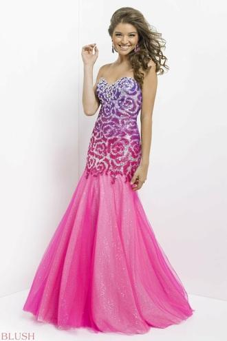 dress prom dress pink dress purple prom dresses pink prom dresses purple dress flower prom dress floral prom dress
