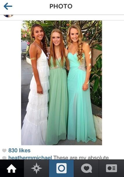 Boho Boho Prom Prom Dress Dress White Dress Lace Dress Wheretoget