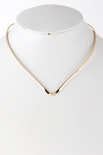 jewels necklace gold collar necklace