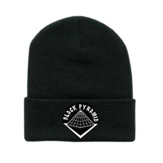 hat black pyramid chris brown beanie