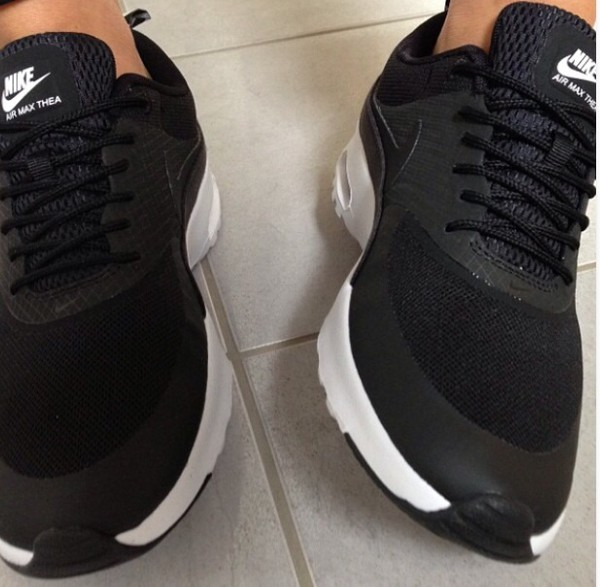 shoes nice air max air max nike air max thea black nike shoes workout nike nike air max thea workout clothing nike free run trainers running sportswear athletic