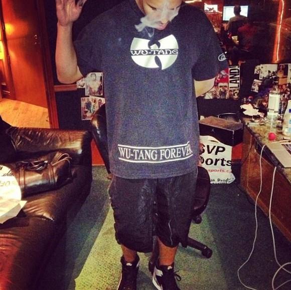 black hip-hop t-shirt wutang wu-tang clan drake