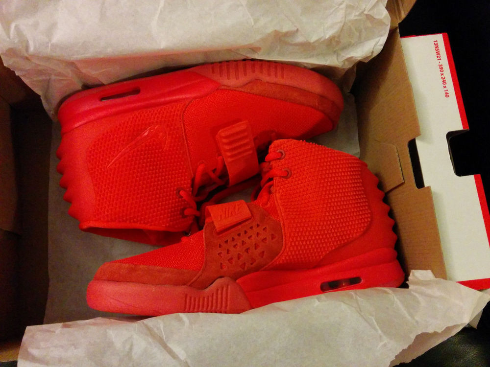 Nike Air Yeezys 2 Red October Brand New in Box Deadstock Yeezy 2 Red Octobers