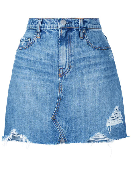 skirt women angel cotton blue 24
