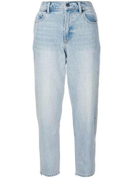 Alexander Wang jeans cropped jeans cropped women cotton blue