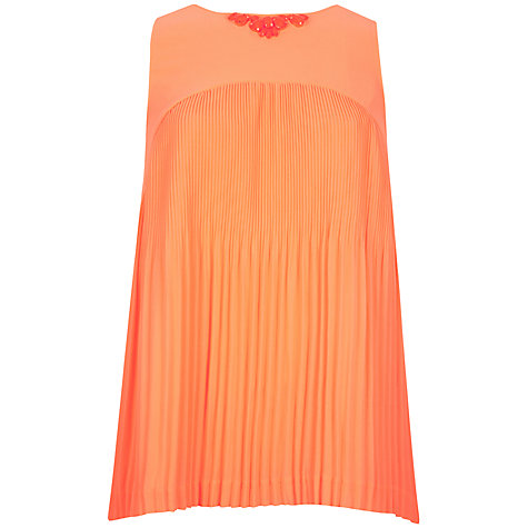 Buy Ted Baker Clauda Pleated Top | John Lewis