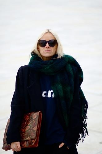 hippie hippie milkshake blogger sunglasses scarf blanket scarf tartan snake print pouch