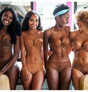 underwear,nubian skin,brown underwear,lingerie,model