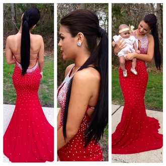 dress red dress redpromdress prom dress jovani prom dress jovani gown long prom dress
