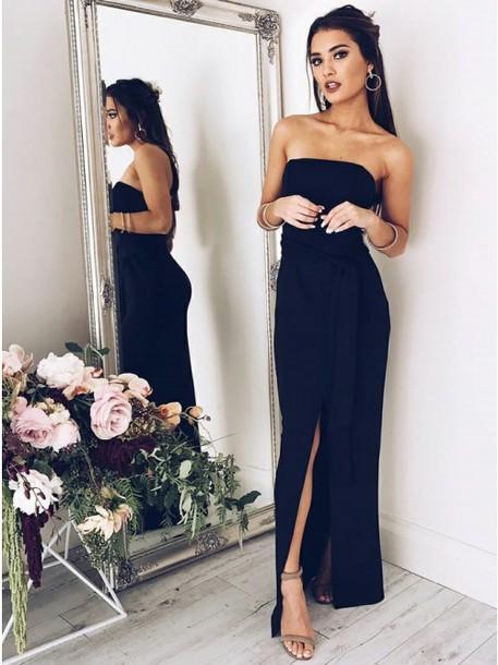 Black Dress for Prom 2018