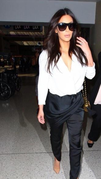 sunglasses kim kardashian pants