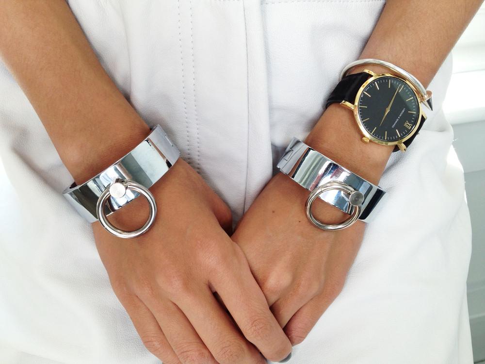 Bound cuffs